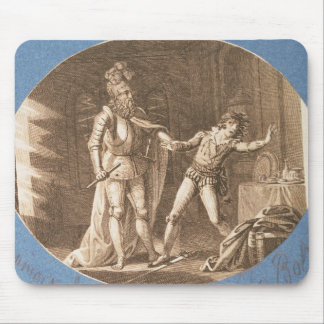 Don Giovanni and the statue of the Commandantore Mouse Pad