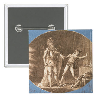 Don Giovanni and the statue of the Commandantore Pinback Button
