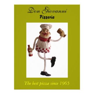 Don Giovanni Pizzeria flyer