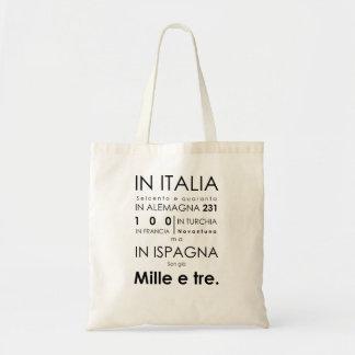 Don Giovanni Tote Bag