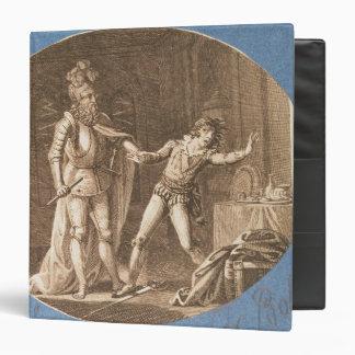 "Don Giovanni y la estatua del Commandantore Carpeta 1 1/2"""