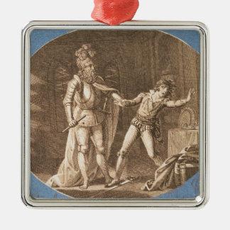 Don Giovanni y la estatua del Commandantore Adornos