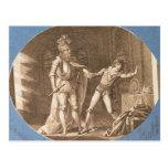 Don Giovanni y la estatua del Commandantore Postales