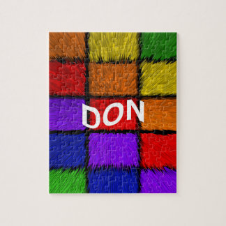 DON JIGSAW PUZZLE