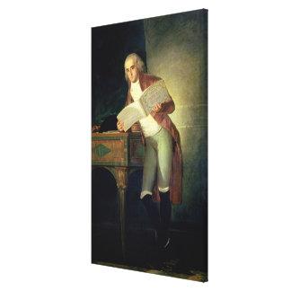 Don Jose Alvarez de Toledo y Gonzaga Canvas Print