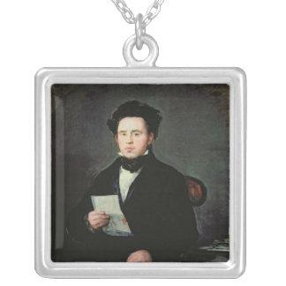 Don Juan Bautista de Muguiro Silver Plated Necklace