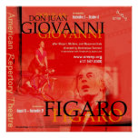 DON JUAN GIOVANNI and FIGARO 2 Poster