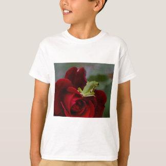 Don Juan Rose and Green Tree Frog T-Shirt