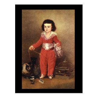 Don Manuel Osorio de Zuniga_Portraits Postcard
