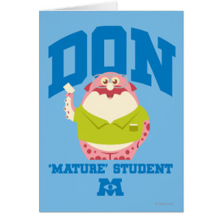 Don Mature Student Card