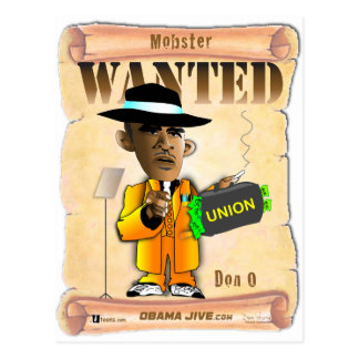 Don O Mobster Post Card