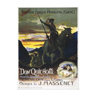 Don Quichotte de Jules Massenet Impresiones En Lona Estiradas
