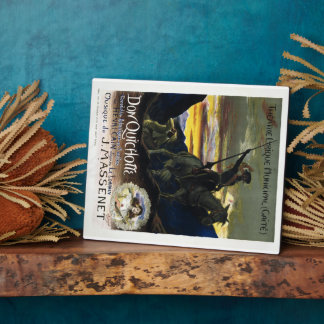 Don Quichotte de Jules Massenet Placa Para Mostrar