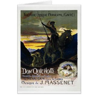 Don Quichotte de Jules Massenet Felicitación