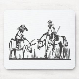 Don Quijote Alfombrilla De Ratón