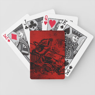 Don Quijote by José Guadalupe Posada Bicycle Playing Cards