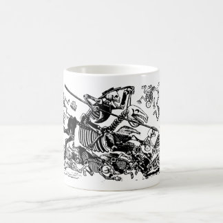 Don Quijote by José Guadalupe Posada Classic White Coffee Mug