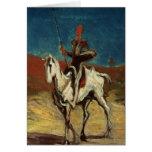 Don Quijote, c.1865-1870 Tarjeta De Felicitación