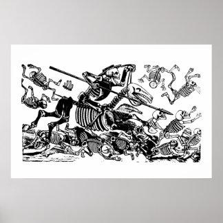 Don Quijote de José Guadalupe Posada Póster