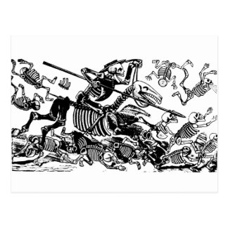 Don Quijote de José Guadalupe Posada Postal