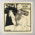 Don Quijote del liceo, el Beggarstaffs Poster