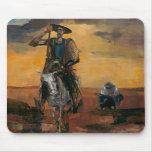 Don Quijote en la manera Stanislav Stanek Tapete De Ratones
