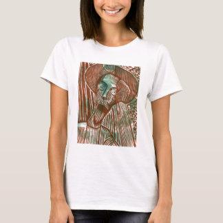 Don Quijote en verde y Brown Playera
