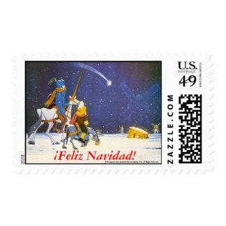 DON QUIJOTE -  ¡Feliz Navidad!,  Sellos - Stamps