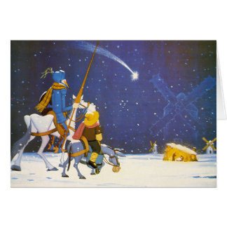 DON QUIJOTE - ¡Feliz Navidad!  - Tarjeta Navidad Card