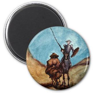 Don Quijote Imán Redondo 5 Cm