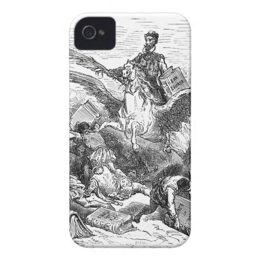 Don Quijote iPhone 4 Case-Mate Protector