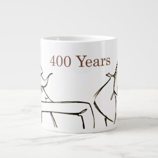 DON QUIJOTE & SANCHO- 400-Year Friends Jumbo Mug