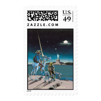 DON QUIJOTE & SANCHO -Centenary Postage sellos