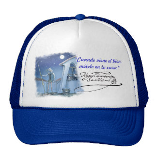 DON QUIJOTE - SANCHO - Cervantes - Gorra Visera Trucker Hat