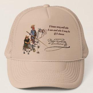 DON QUIJOTE, SANCHO, Cervantes Gorra visera Trucker Hat