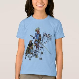 DON QUIJOTE, SANCHO, ROCINANTE y RUCIO - Camiseta T-Shirt