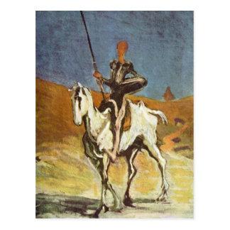 Don Quijote Tarjeta Postal