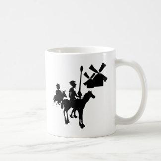 Don Quijote Taza Básica Blanca
