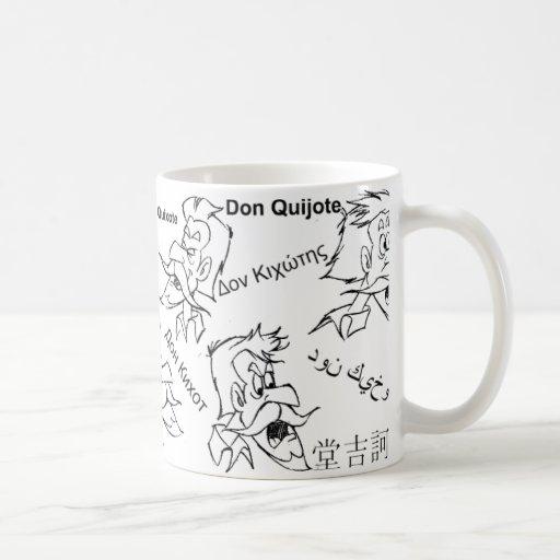 DON QUIJOTE - taza de la taza