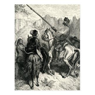 Don Quijote y la señora Postal