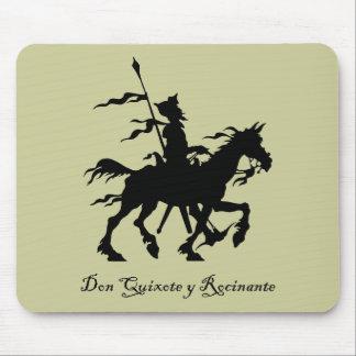 Don Quijote y Rocinante Tapete De Ratón
