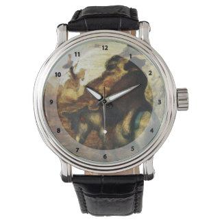 Don Quijote y Sancho Pansa de Honore Daumier Relojes