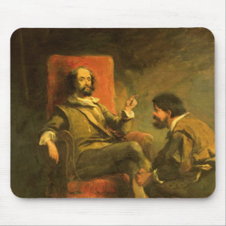 Don Quijote y Sancho Panza Mouse Pads