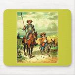 Don Quijote y Sancho Panza Tapete De Raton