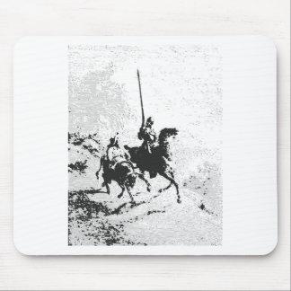 Don Quijote y Sancho Panza Tapete De Ratones
