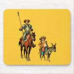 Don Quijote y Sancho Panza Tapetes De Ratón
