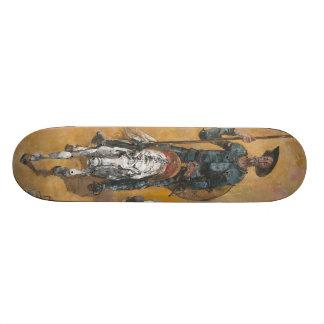 Don Quixote Adventures Stanislav Stanek Skateboard