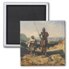 Don Quixote and Sancho Magnet