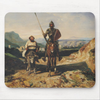 Don Quixote and Sancho Mouse Pad