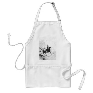 Don Quixote and Sancho Panza Adult Apron